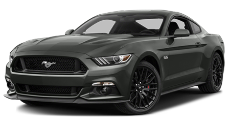 Stock Photo of 2016 Ford Mustang