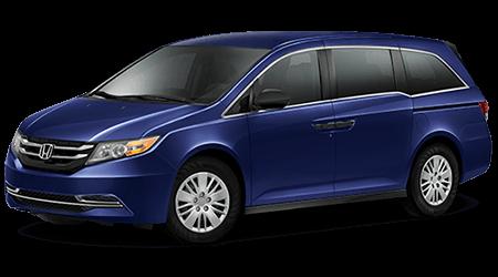 Stock Photo of 2016 Honda Odyssey