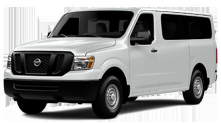 Stock Photo of 2016 Nissan NV Passenger