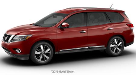 Stock Photo of 2016 Nissan Pathfinder