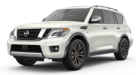 Stock Photo of 2017 Nissan Armada