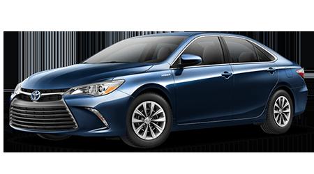 Stock Photo of 2016 Toyota Camry Hybrid