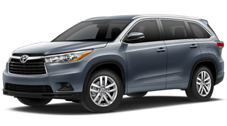 Stock Photo of 2016 Toyota Highlander Hybrid