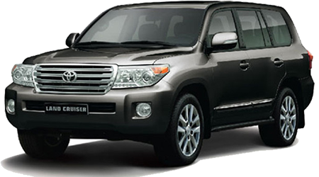 Stock Photo of 2016 Toyota Land Cruiser
