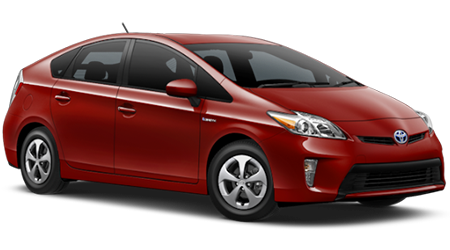 Stock Photo of 2016 Toyota Prius