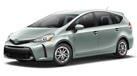Stock Photo of 2016 Toyota Prius V