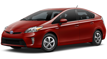 Stock Photo of 2016 Toyota Prius