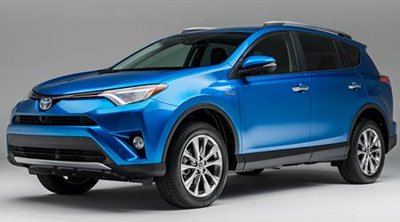 Stock Photo of 2016 Toyota RAV4 Hybrid