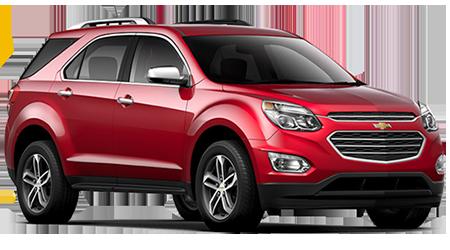 Stock Photo of 2016 Chevrolet Equinox