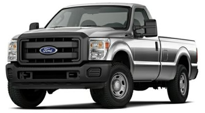 Stock Photo of Ford F-350 Super Duty