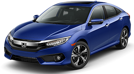 2016 Honda Civic near Queensbury