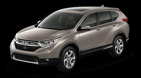 2017 Honda CR-V Tan with Gray Interior