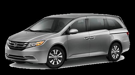 2017 Honda Odyssey Gray with Gray Interior