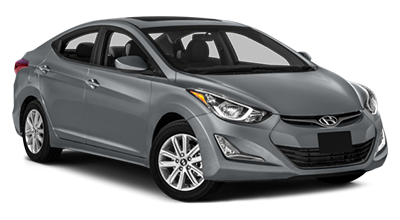 Stock Photo of 2016 Hyundai Elantra