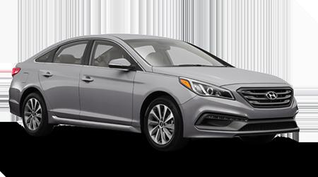Stock Photo of 2016 Hyundai Sonata