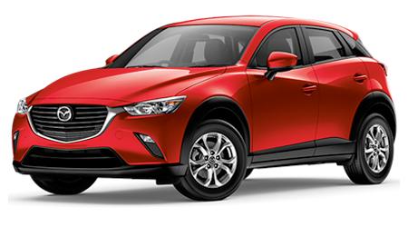 Stock Photo of 2016 Mazda CX-3