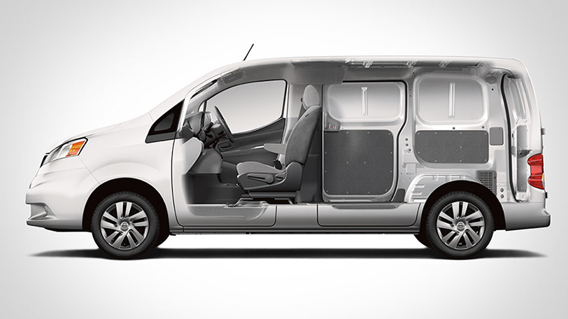2015 Nissan NV200 Interior