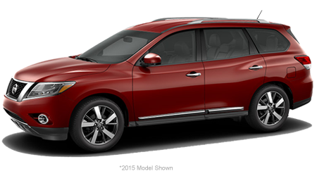 Stock Photo of 2016 Nissan Pathfinder
