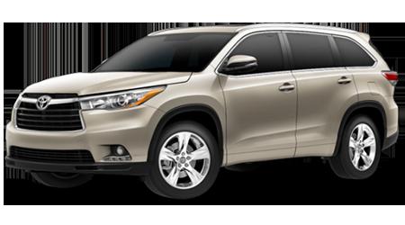 Stock Photo of 2016 Toyota Highlander