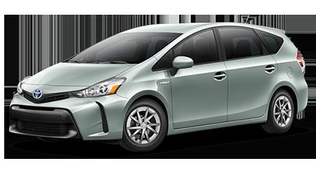Stock Photo of 2016 Toyota Prius V