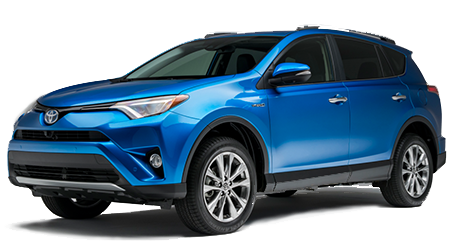 Stock Photo of 2016 Toyota RAV4 Hybrid