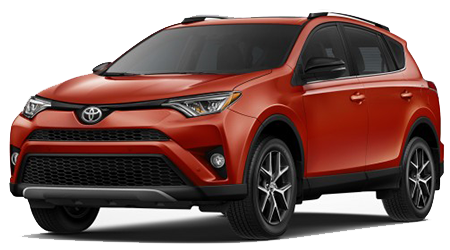 Stock Photo of 2016 Toyota RAV4