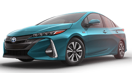 Stock Photo of 2017 Toyota Prius Prime