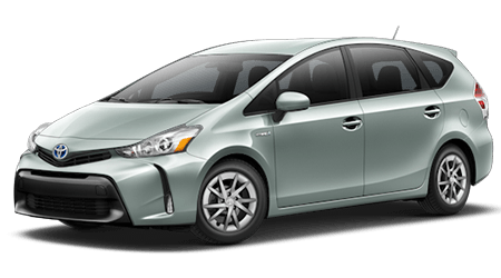 Stock Photo of 2017 Toyota Prius v