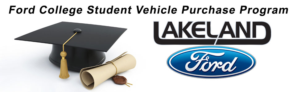 Ford College Student Vehicle Purchase Program