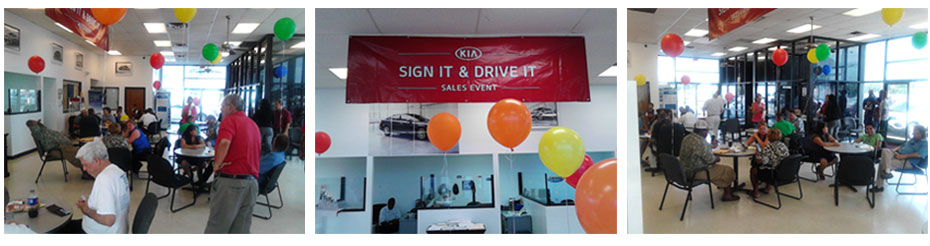 Employees at Fayetteville Kia
