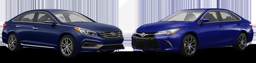 2015 Hyundai Sonata vs. Toyota Camry in Lakeland, FL