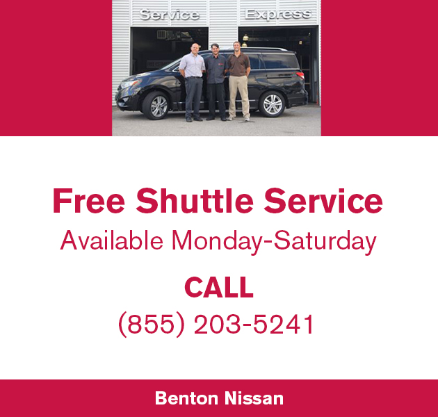 Free shuttle service available Monday through Saturday.