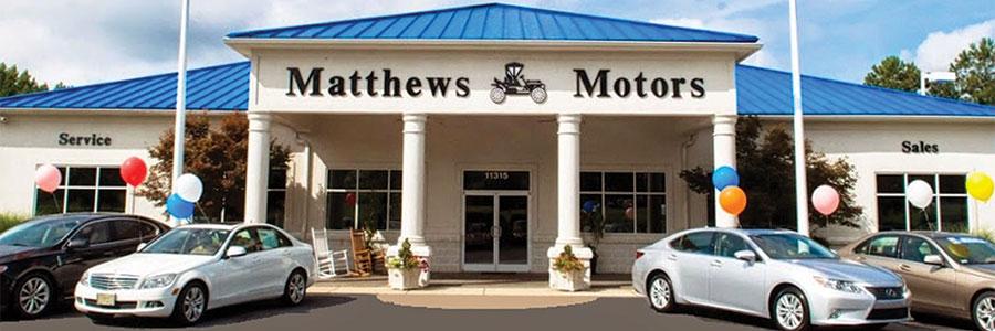 Matthews Motor Difference Near Raleigh, NC
