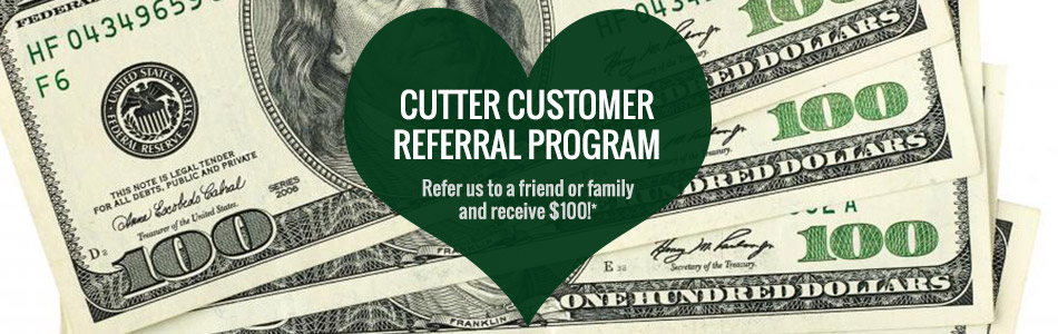 Cutter Auto Customer Referral Program