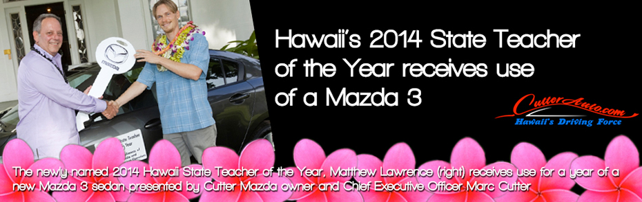 Hawaii's 2014 Teacher Of The Year