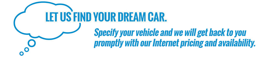 Let us Find you a car