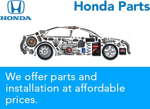 Honda Parts Prescott, Arizona