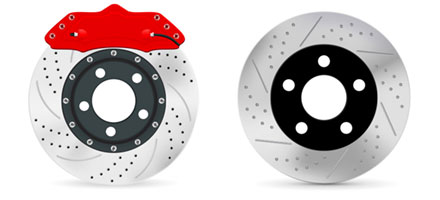 GENUINE TOYOTA 2 WHEEL BRAKE SERVICE