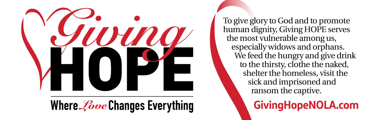 giving hope where love changes everything