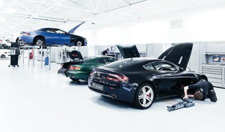 Schedule Service Towbin Aston Martin