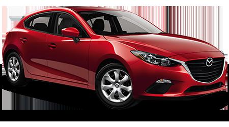 Stock Photo of 2016 Mazda 3