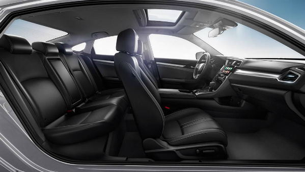 2016 Honda Civic seating