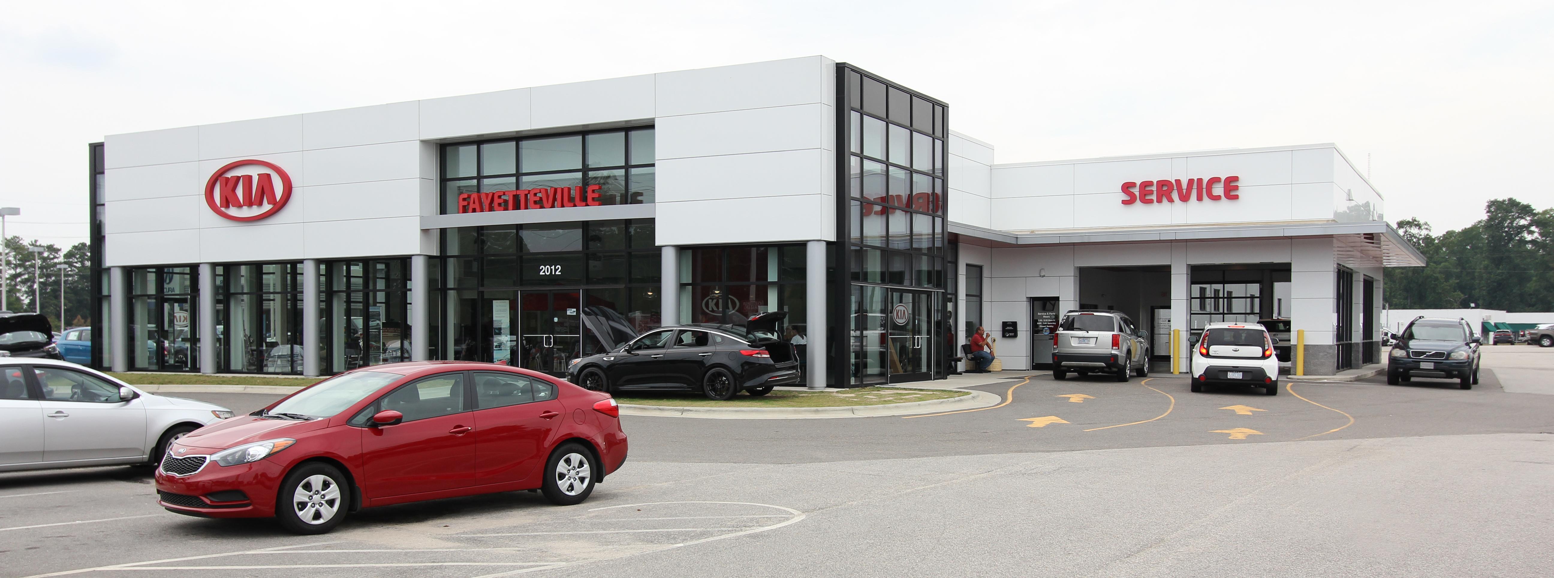 Fayetteville Kia Dealership