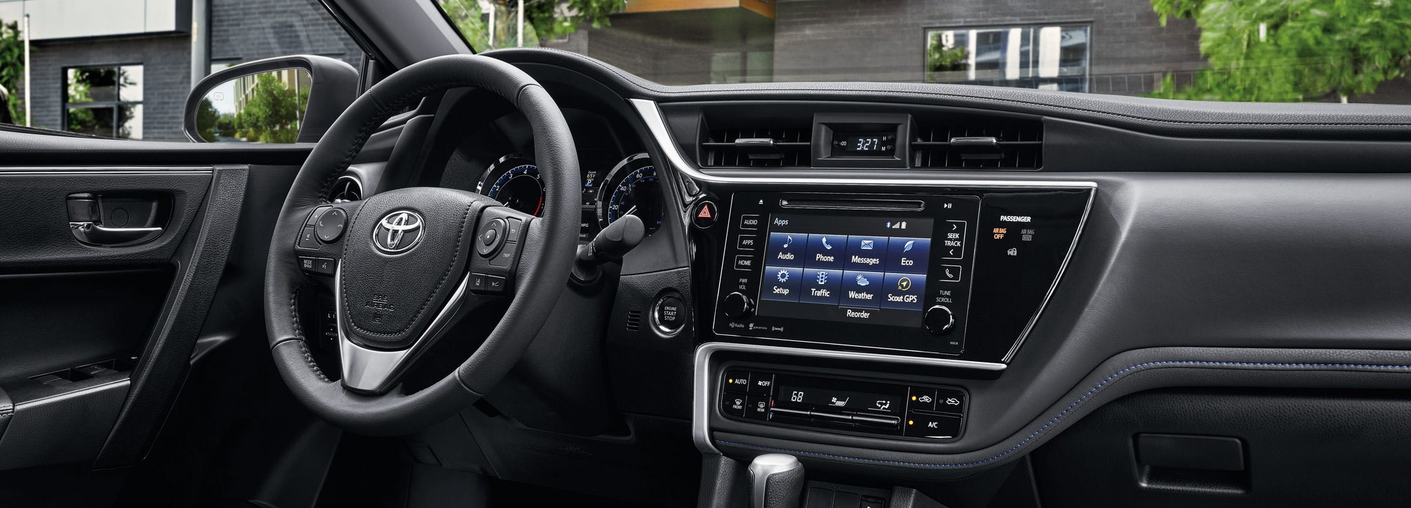 2017 Toyota Corolla Interior with Entune Audio