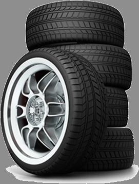 Honda of Ocala, stack of tires