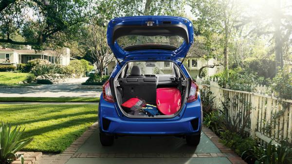 2016 Honda Fit cargo space