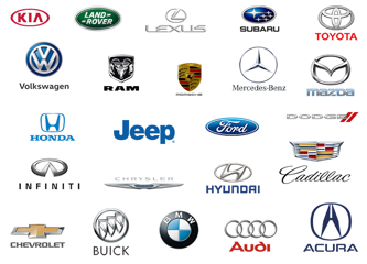 Car manufacture logos, James Hodge Toyota