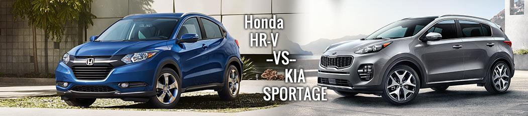Honda HR-V vs. Kia Sportage