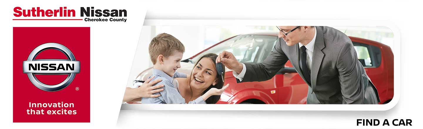 Sutherlin Nissan Cherokee County Car Finder