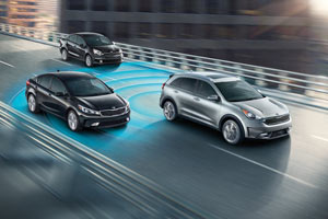 2017 Kia Niro Models and Features with safety